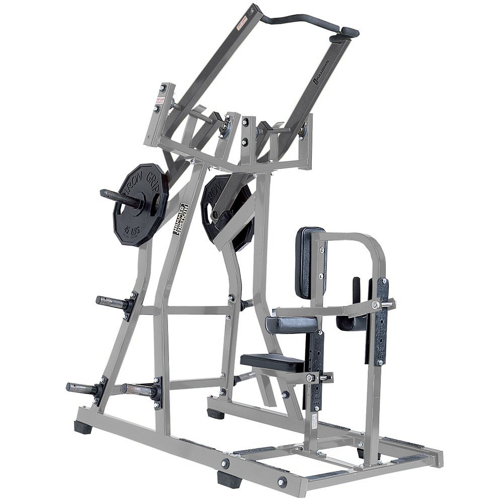 _19 Iso-lateral Front Lat Pulldown à charges libres Hammer Strength