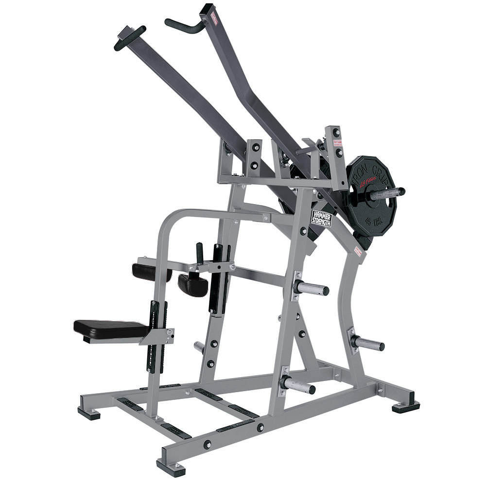 _191 Iso-lateral Front Lat Pulldown à charges libres Hammer Strength